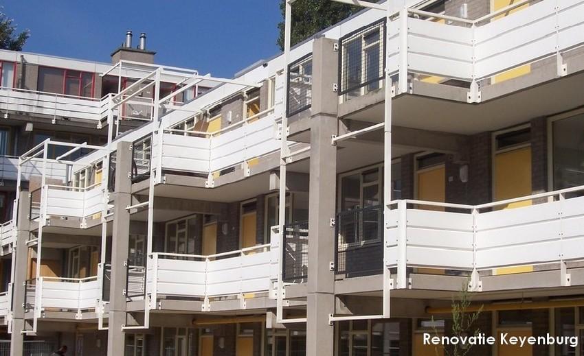 keyenburg renovatie rotterdam