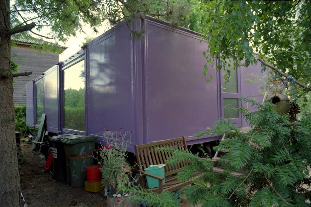 De Fantasie Almere Containerwoning Foto: Addison Godel
