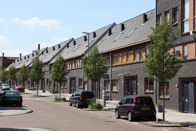 Eengezinswoningen Tarwewijk Rotterdam DSH-architecten