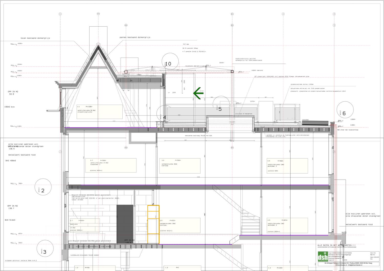 ut-07-2 doorsnede A dakopbouw trap_1500